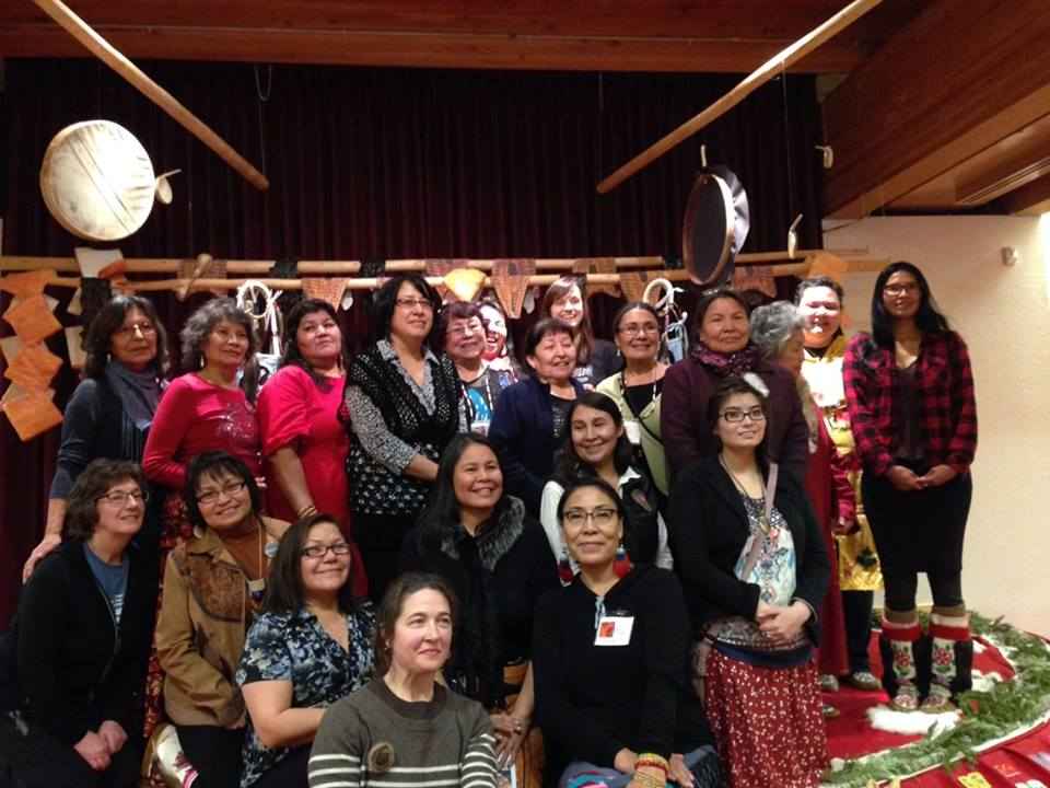 Group shot of Indigenous women